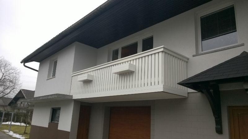 PVC balkonske ograje