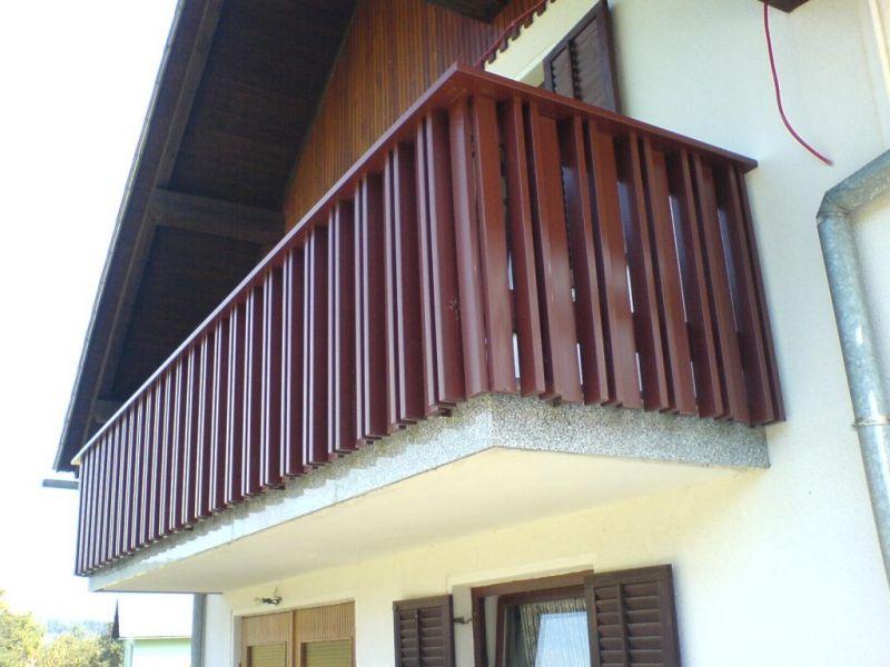 Barve balkonskih ograj