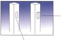 Pritrditev ograj na PVC stebre