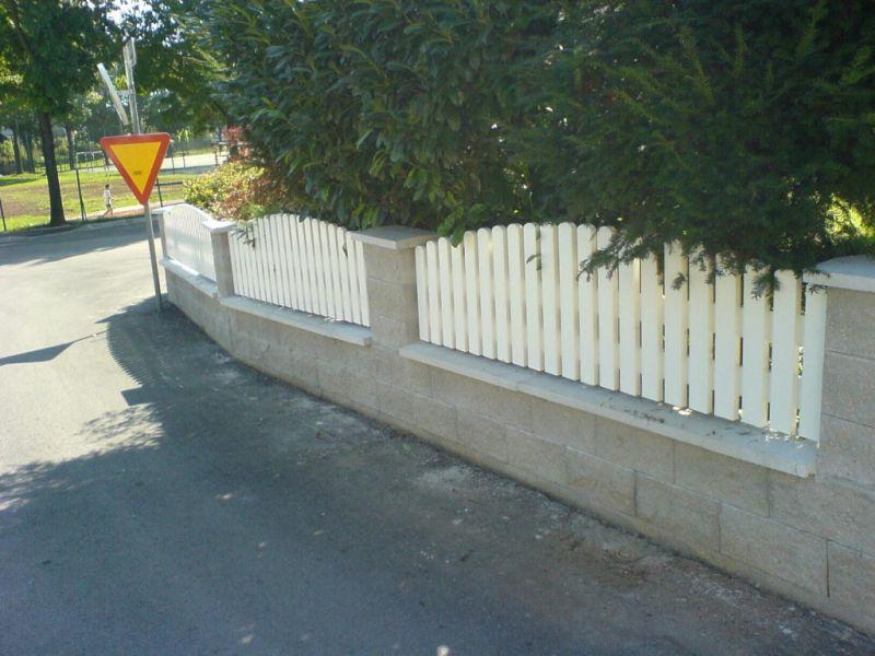 Vrtna ograja nizka